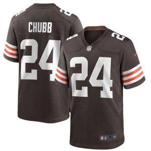 Men's Cleveland Browns Nick Chubb Jersey 24
